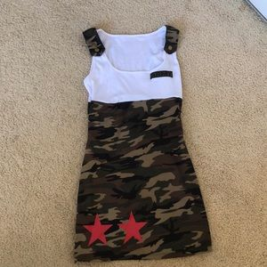 Army Girl Costume size Small